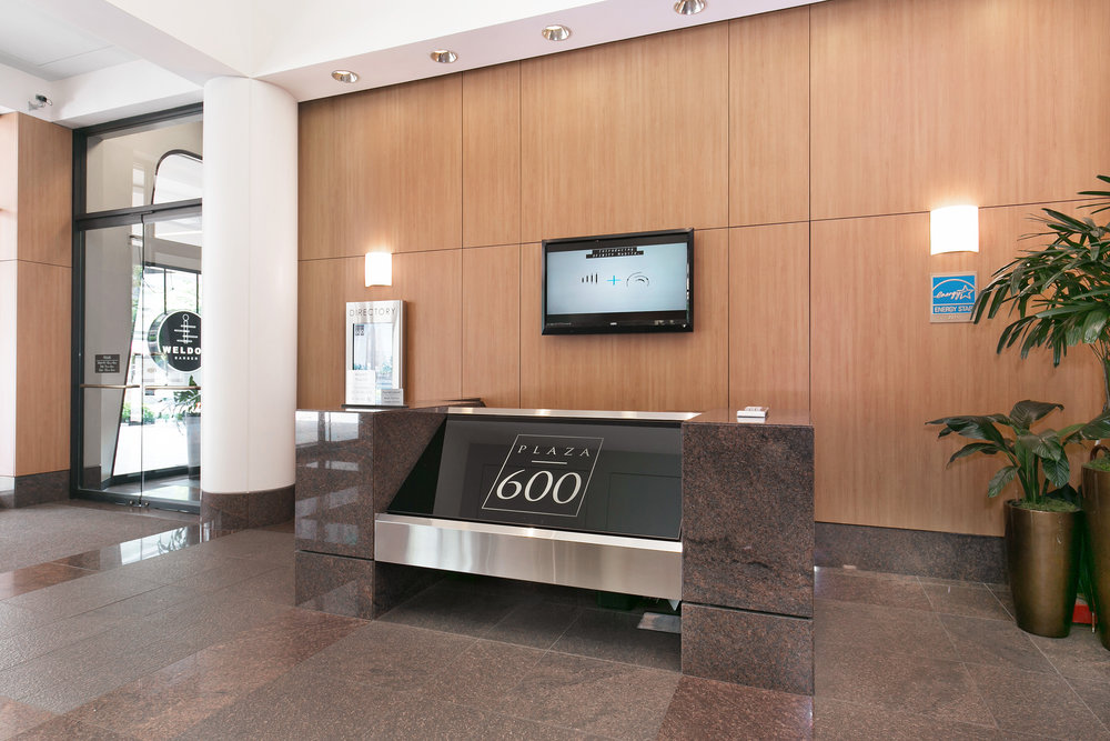For Lease | Plaza 600 Building Seattle - Lobby