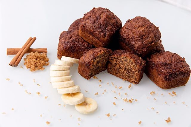 Try our banana 🍌 bread. Covered with cinnamon and brown sugar 🤤 We promise you will not be disappointed! 💜 😋✨