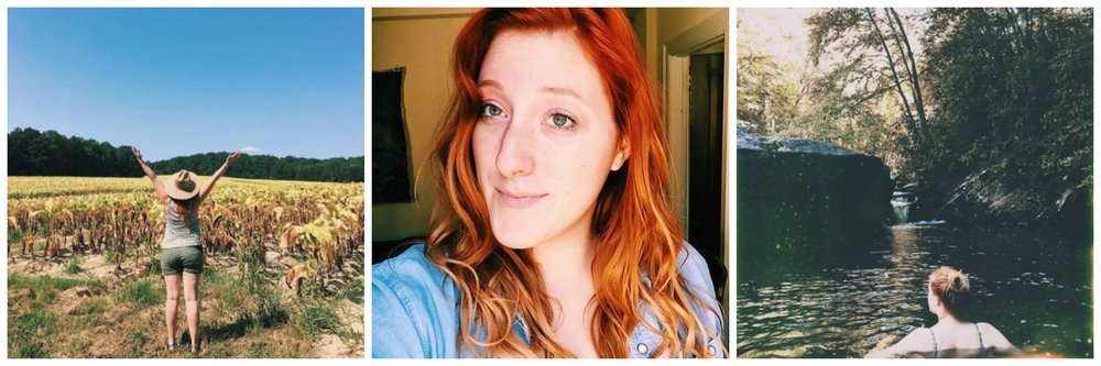 me and my crazy ginger locks | adventures from 2016