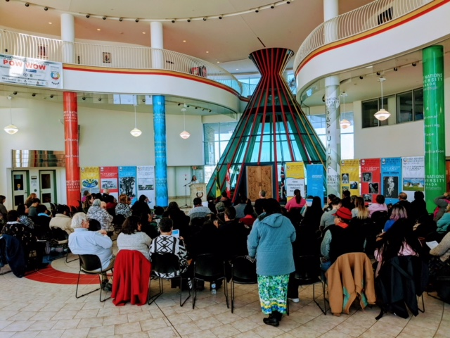 FIRST NATIONS UNIVERSITY OF CANADA MULTIPURPOSE ROOM