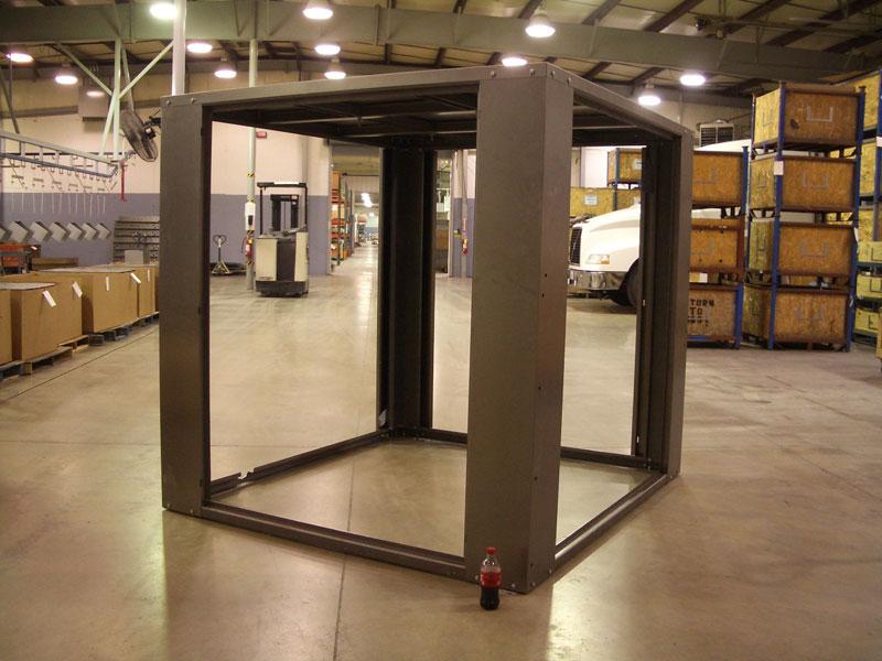 Large HVAC Cabinet Frame
