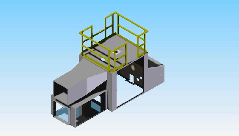 CAD CONCEPT: Very Large HVAC Enclosure