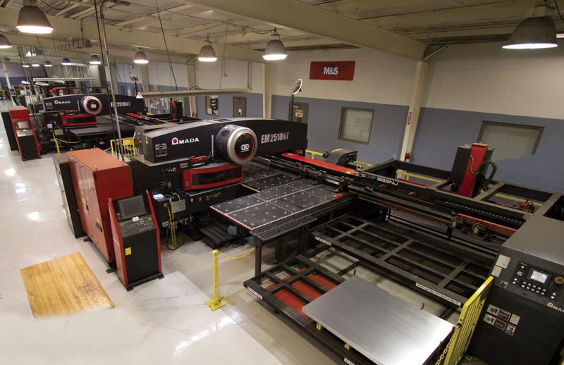 AMADA EM CNC Punching / Turret