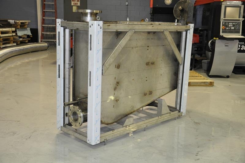 Stainless Steel Tank Frame Assembly