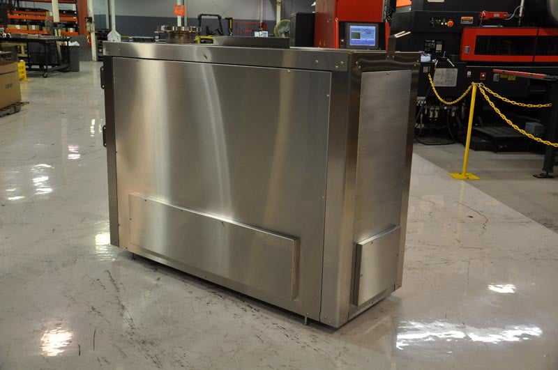 Brushed Stainless Steel Cabinet