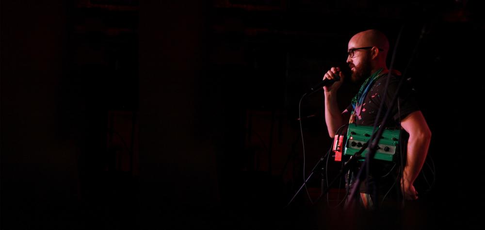 DA Carter - Performer at FailureLab Sydney