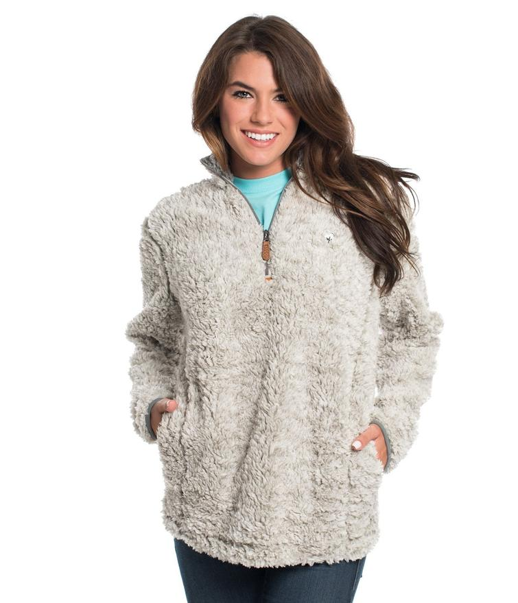 Southern shirt sherpa $108.00  Okay I have a lot of favorite gifts from my bf but this one is definitely top 5. He completely surprised me with it and I am obsessed with it! I wear it like a concerning amount.. I am actually wearing it while I am writing this haha. Depending what you think is expensive for a sweatshirt you may think this price is insane or reasonable. If its way out of your price range I will link one from Pink Lilly thats a little more reasonable. If you can afford this one though, Do it!! Softest thing ever she will feel like a fuzzy bear when you cuddle.. its a win win! I have never tried the one from pink Lilly so I can not vouch for that one but i've heard good things. This gift is good for all girls but especially mn girls cause we all know it gets hella chilly up here!   https://www.southernshirt.com/collections/women/products/heather-sherpa-pullover-w-pockets-women?variant=50509781843   https://pinklily.com/snowy-daydreams-sherpa-quarter-zip-pullover-charcoal/