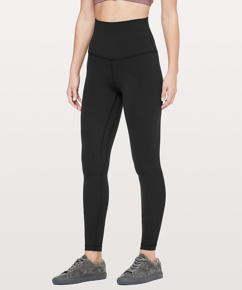 Lululemon leggings $98.00 I debated even putting these in here because i'm pretty every single girl I am friends with has a pair but hey just incase your girlfriend doesn't this is an amazing gift! I live in my Lululemon leggings I have several pair they are so comfy. If she doesn't have a pair just get her the plain black but if she does have a pair and you know she loves them maybe get her a different color (the camo ones are super cool).  https://shop.lululemon.com/p/women-pants/Align-Pant-Super-Hi-Rise-28/_/prod9200552?color=34135