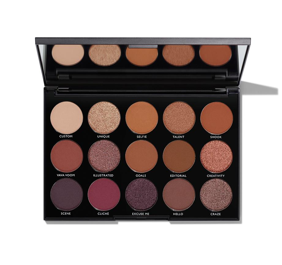 MORPHE 15N NIGHT MASTER EYESHADOW $16.00 I love morphe eyeshadow palettes. They are very reasonably priced and amazing quality. These colors are very neutral so you really can't go wrong with it! They also have a bunch of other palettes too if you don't think the person you are gifting will like these colors.    https://www.morphebrushes.com/collections/best-sellers/products/15n-night-master-eyeshadow-palette