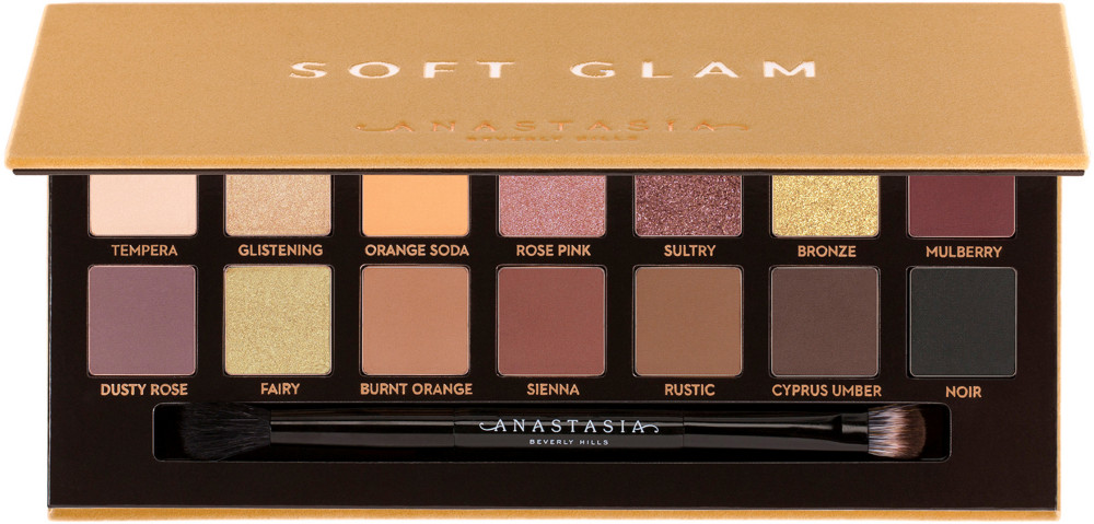 ANASTASIA BEVERLY HILLS SOFT GLAM EYESHADOW PALETTE $42.00 Everyone loves Anastasia palettes. They perform so well and are perfect to travel with. I have a bunch of her palettes and they never disappoint. These colors are perfect and can make a great work look or a great going out look!    https://www.sephora.com/product/soft-glam-eyeshadow-palette-P58930227?skuId=2036481&icid2=bestsellers:p58930227