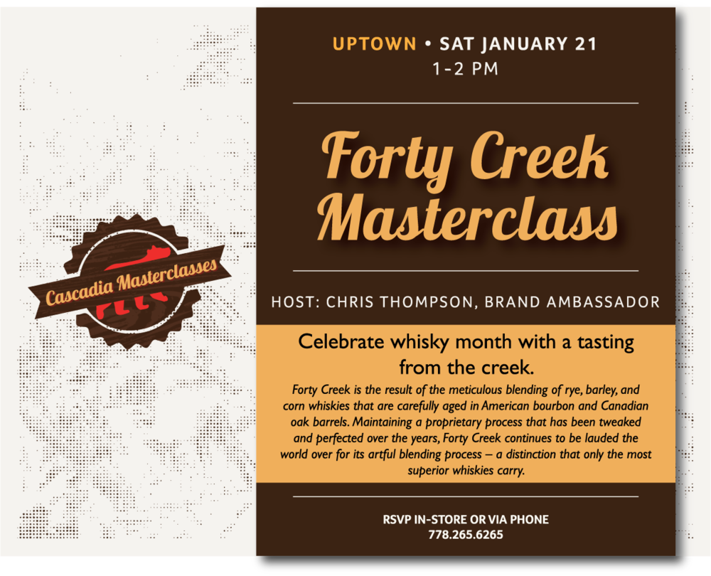FORTY CREEK MASTERCLASS