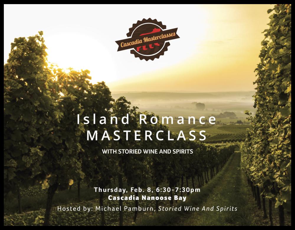 island romance, wine, vancouver island wine, storied wine and spirits