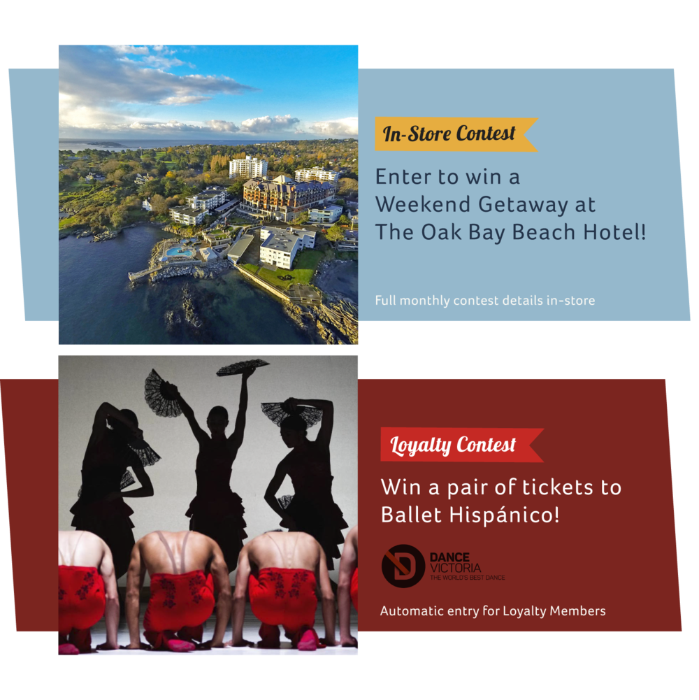 March Contests, Oak Bay Beach Hotel, Ballet Hispanico, Dance Victoria