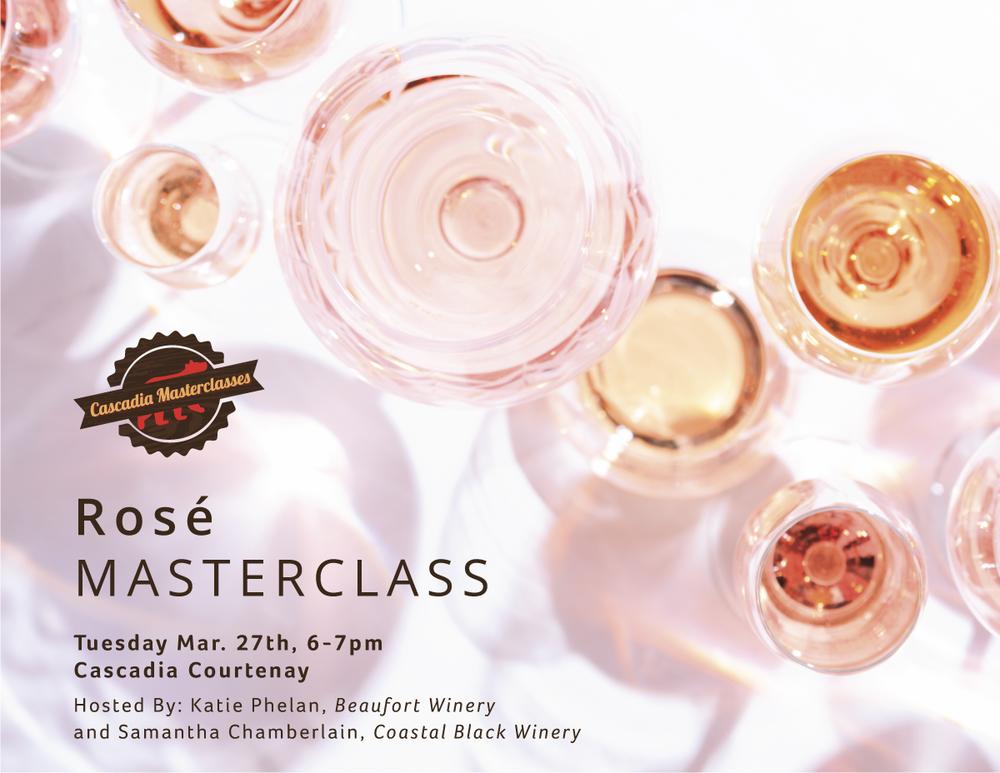 courtenay, rosé, masterclass
