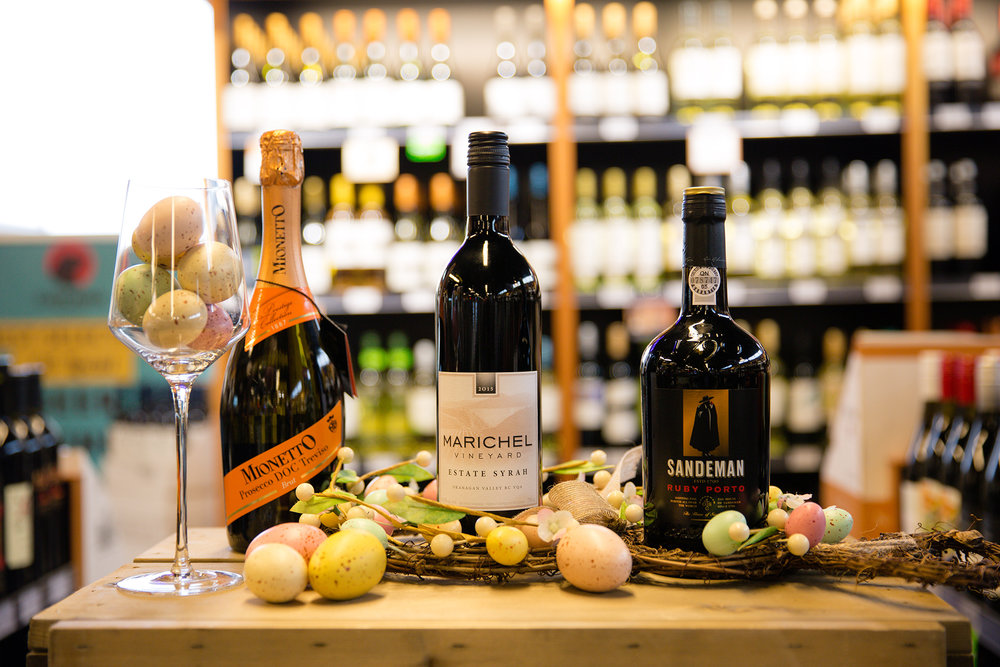 easter pairings, red wine, prosecco