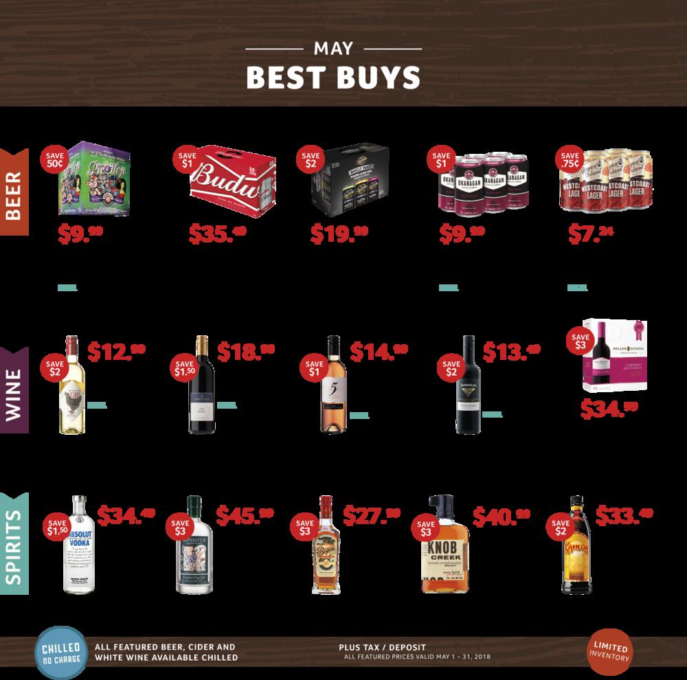 May Best Buys, Cascadia Liquor