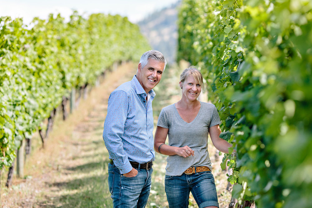 - About the winemaker Sarah Bain began her path in the wine industry in 2004. She built her career at two leading organic and biodynamic producers in Central Otago, New Zealand. Sarah has since worked vintages across California, Germany and Canada.Photo: Gordon Fitzpatrick (owner) and Sarah Bain (winemaker)