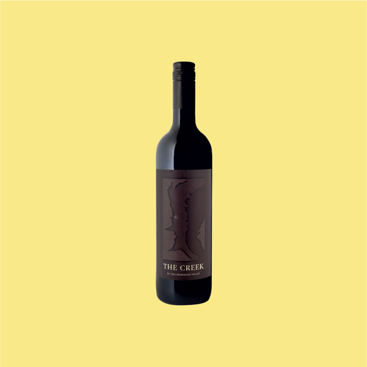 Tinhorn Creek The Creek - A bordeaux blend of mostly cabernet sauvignon featuring dark berry flavours and a spicy finish.750ml, $62.99