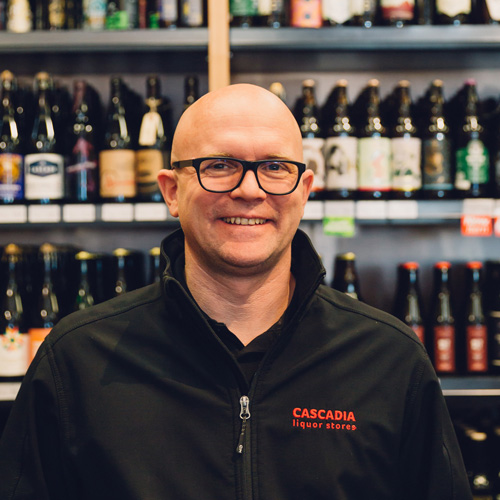 JAY JORDAN GM, QUADRA  WSET LEVEL 2 / CICERONE CERTIFIED BEER SERVER  Jay and his team are excited about creating an amazing new shopping experience at Quadra Village in Victoria. Jay has extensive experience in hospitality and bartending. Like any good bartender, Jay is happy to chat and help you find the right ingredients for your next event. Tip - ask him to help pick out a great bottle of bourbon.  Email:  j  jordan@cascadialiquor.com
