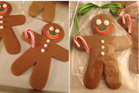 gingerbread man duo