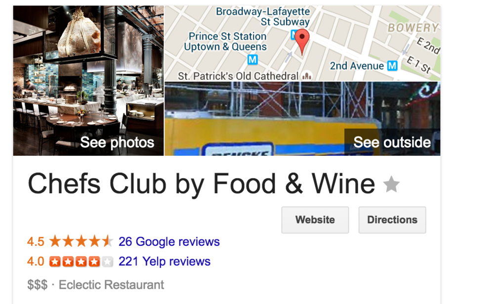 The New Yelp Google Chrome Extension: Yelpify - SinglePlatform
