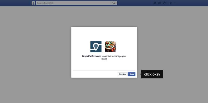facebook menu syncing