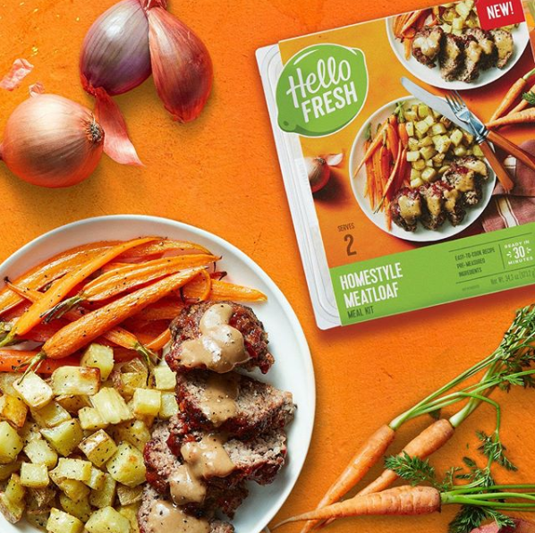 via Hello Fresh Instagram
