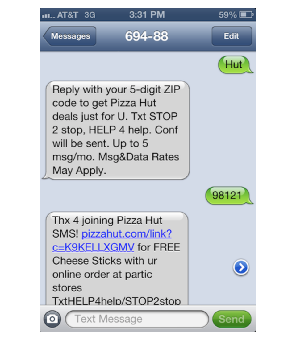 example of an sms message from restaurant.png