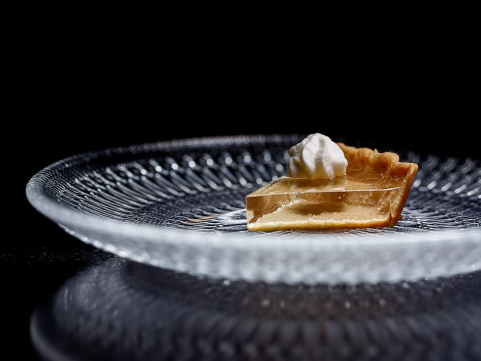 The Clear Pumpkin Pie via ABC News