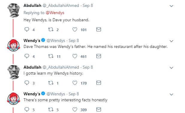 wendys social marketing