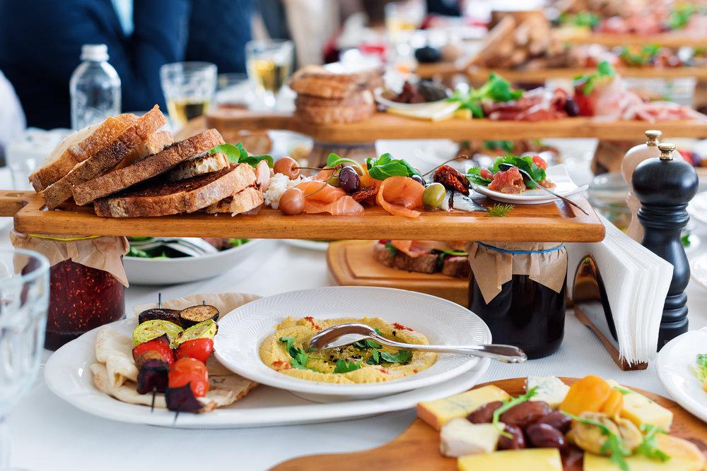 event menu food