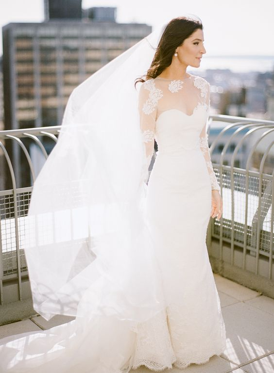 Stylish Winter Wedding Dresses | www.AleekaEvents.co.uk