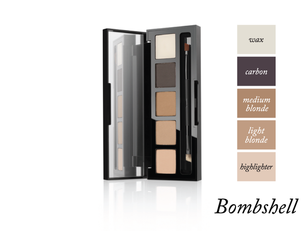 HD Brows Eye & Brows Palette.  A two in one, eyebrow kit and eyeshadow palette. Use it to fleek your brows,then create a flawless smokey eye with it.