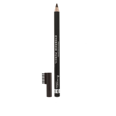 Rimmel London Professional Eyebrow Pencil.  This eyebrow pencil is pretty much a must have. You can shape the brows with the brush, and use the pencil to draw on your brows and fill in gaps.