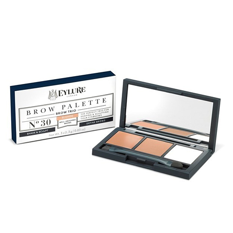 Eylure Brow Palette.  Define and shade the hell out of your brows with this kit. It comes with highlighter and three different shades, blonde, brown and dark brown.