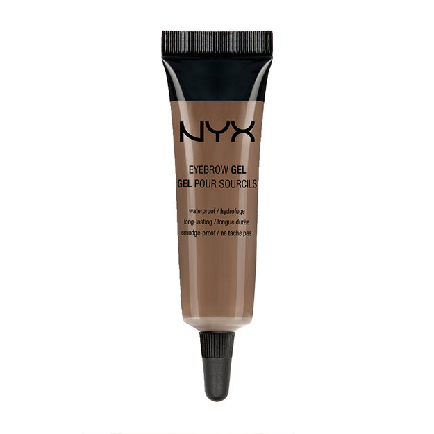 NYX Eyebrow Gel.  Your eyebrows will look fleeky AF with this one. The waterproof gel leaves brows looking fuller, but still pretty natural.