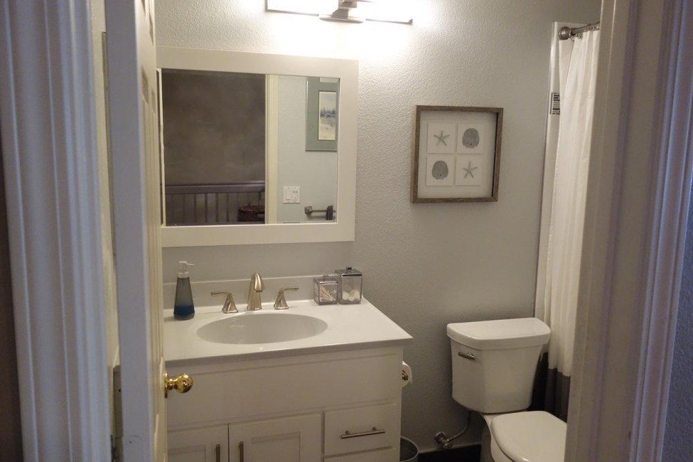 Contemporary Bathroom Remodel - Petaluma, CA