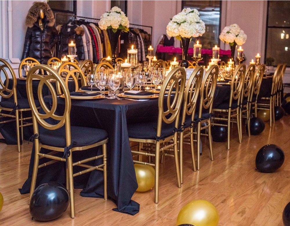 gold-and-black-dinner-party