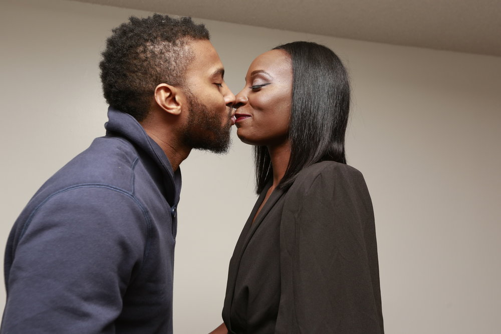 black-couple-kissing