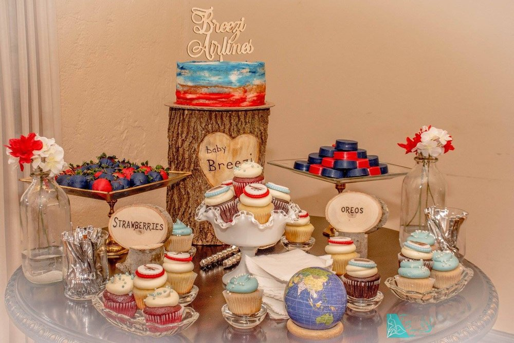 vintage-red-and-blue-dessert-bar