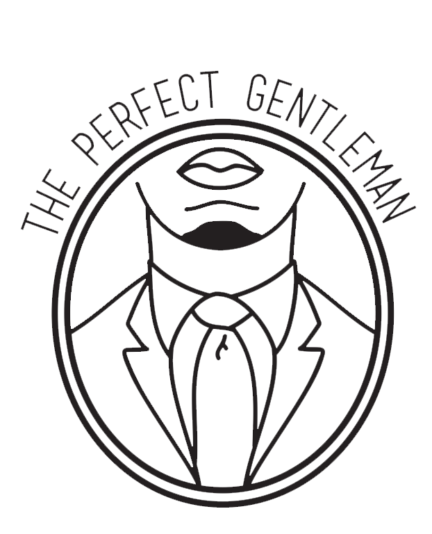 The Perfect Gentleman's Logo was created February 19, 2014 by Benjamin Howard (Detroit Native & Morehouse Man). The face on the logo comes from a photo of Berto in a suit.