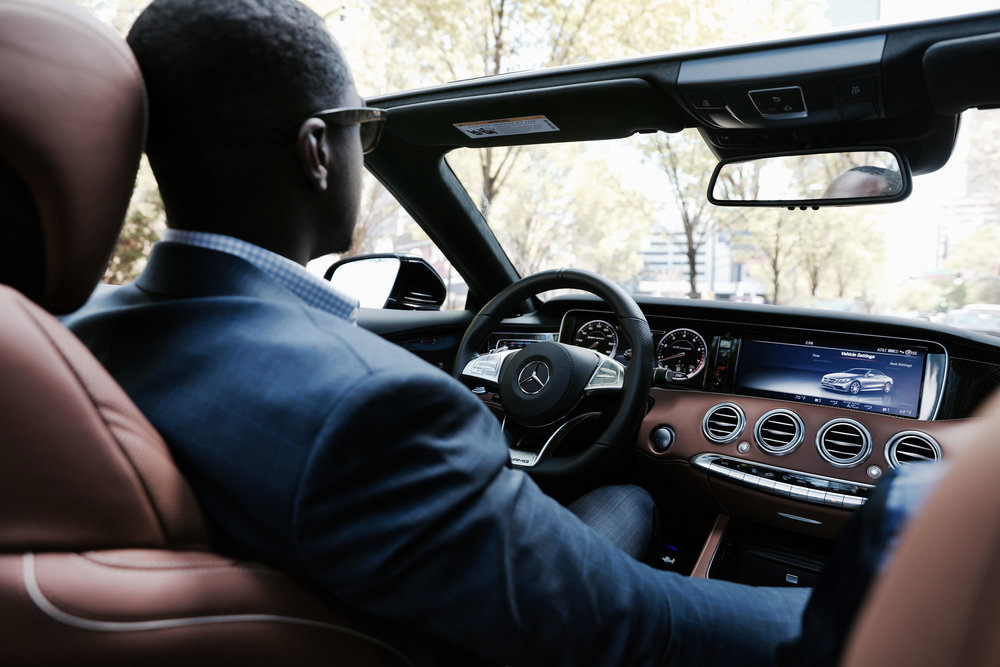 Mercedes-Benz USA Influencer - TPG is Mercedes-Benz first influencer of Atlanta. He has attended the 2017 Masters in Augusta, GA in their 2017 Mercedes-Benz AMG S63 Cabriolet.
