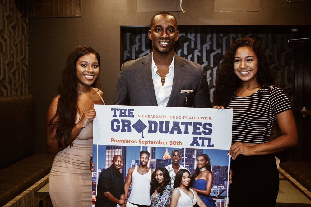 The Graduates ATL on Aspire TV - TPG joins his fellow HBCU graduates for an uplifting reality show focusing on entrepreneurs in Atlanta, GA *Aired Sept 30, 2017.