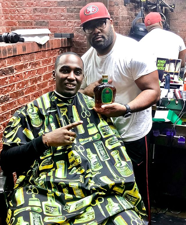 Not too many men I can say I look up to, but Flash you are definitely one of them. You have been my barber since I was in college and you have always been able to give me great advice. I admire and respect the man you are as well as the father you are to your son. I hope you enjoy this bottle of Crown Royal Apple and the custom bag (Swipe Left). Happy Father's Day. If you would like to create a custom bag for Father's Day visit CrownRoyalShop.com #FlavorCollective #CrownRoyalPartner
