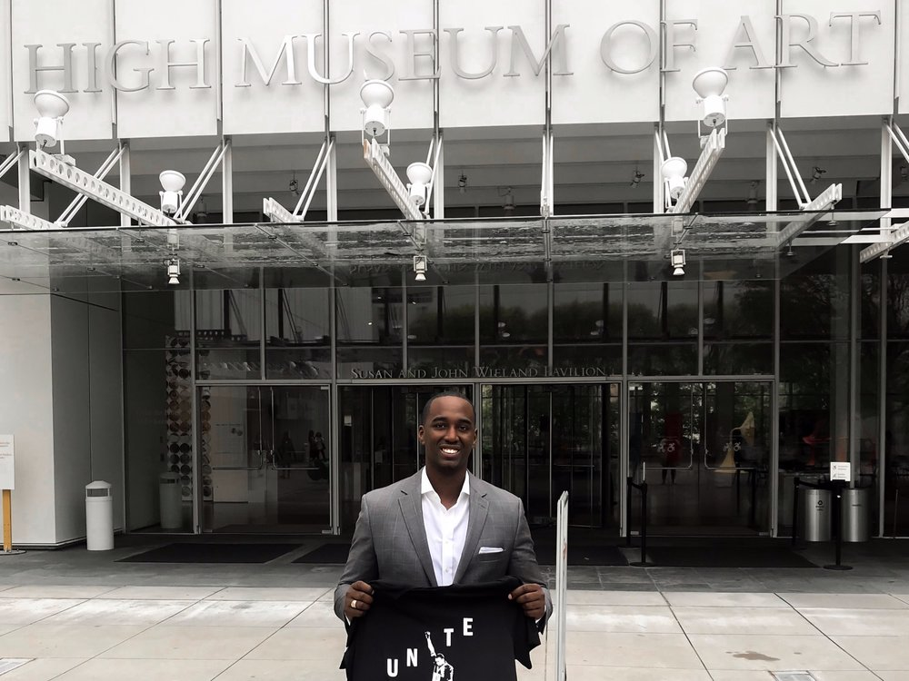 High Museum of Art Brand Ambassador - TPG is one of five to become the first brand ambassadors for the High Museum of Art. Make sure you come by First & Third Fridays.