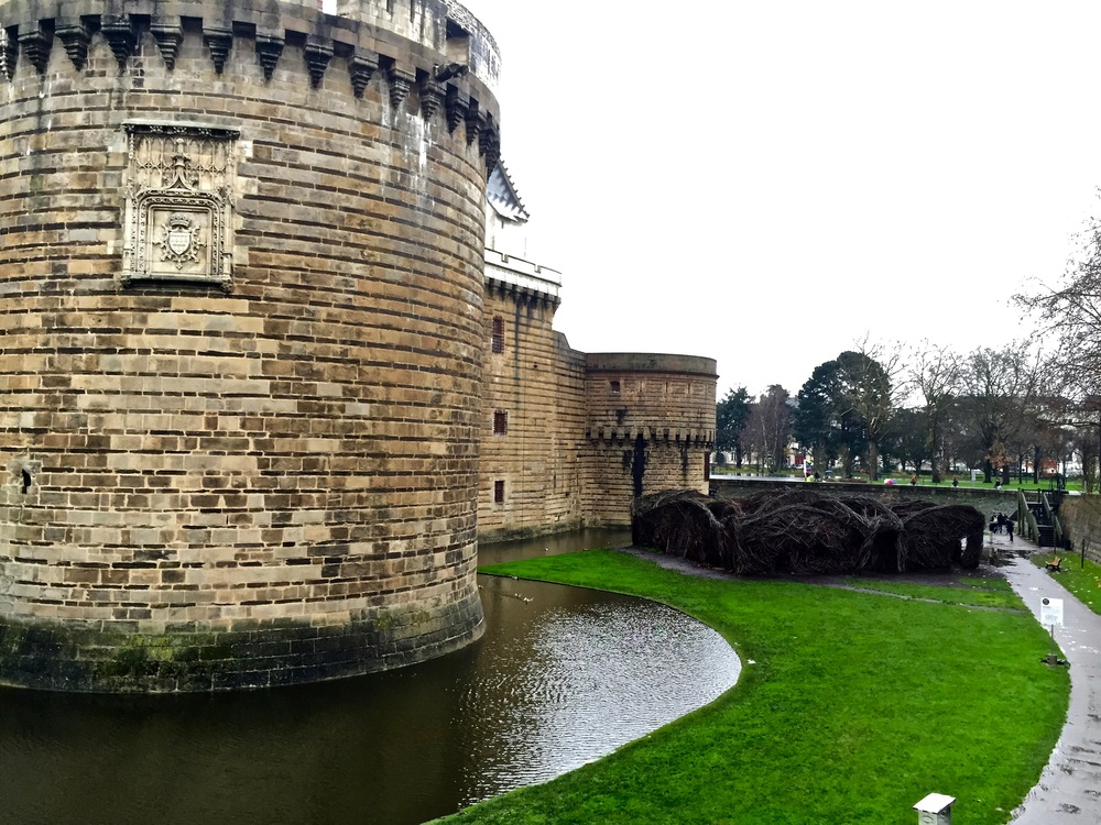 Castle in Nantes