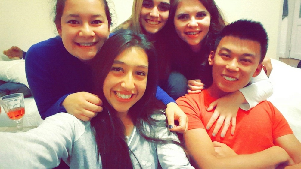 My amazing friends.