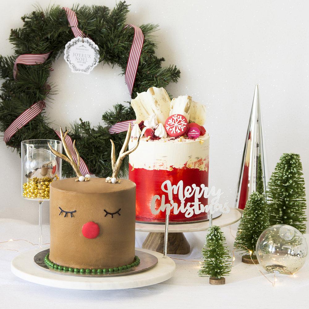 christmas cakes shop online sydney canberra gold coast toowoomba brisbane