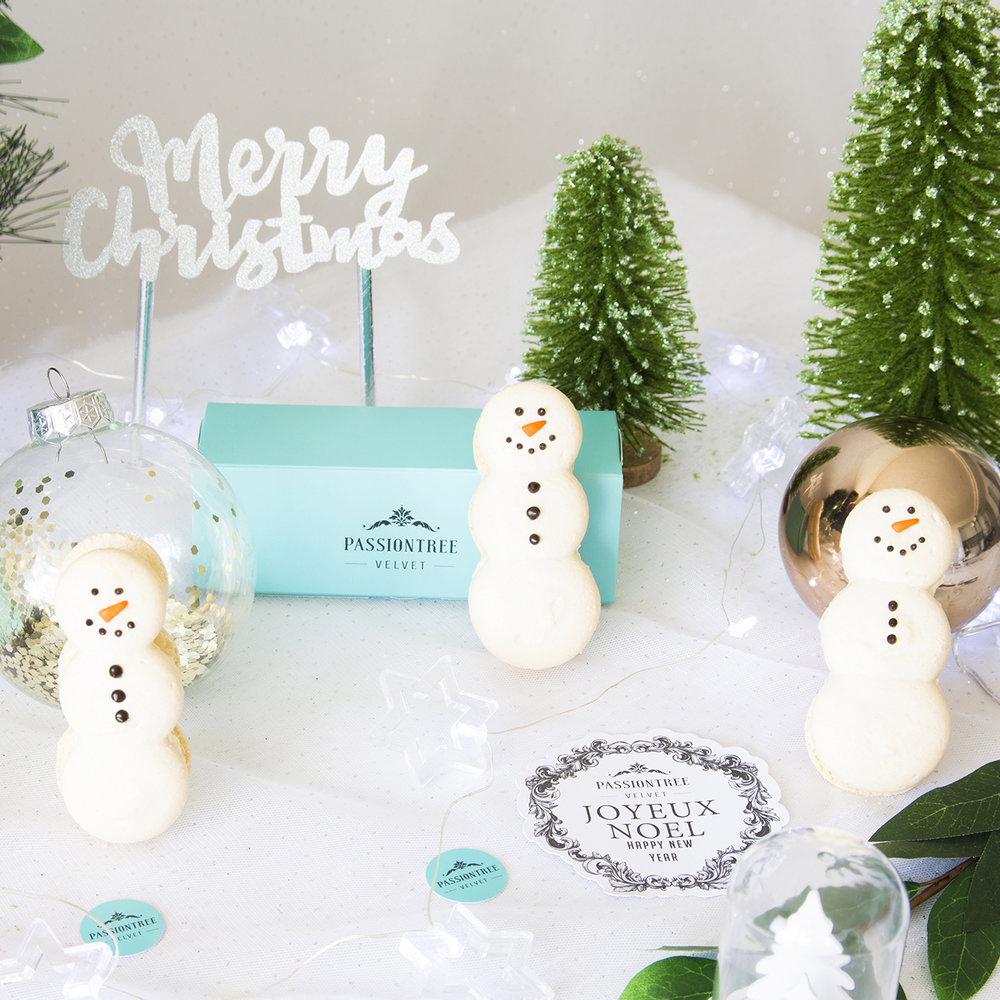 Christmas macaron, macaron tower shop online