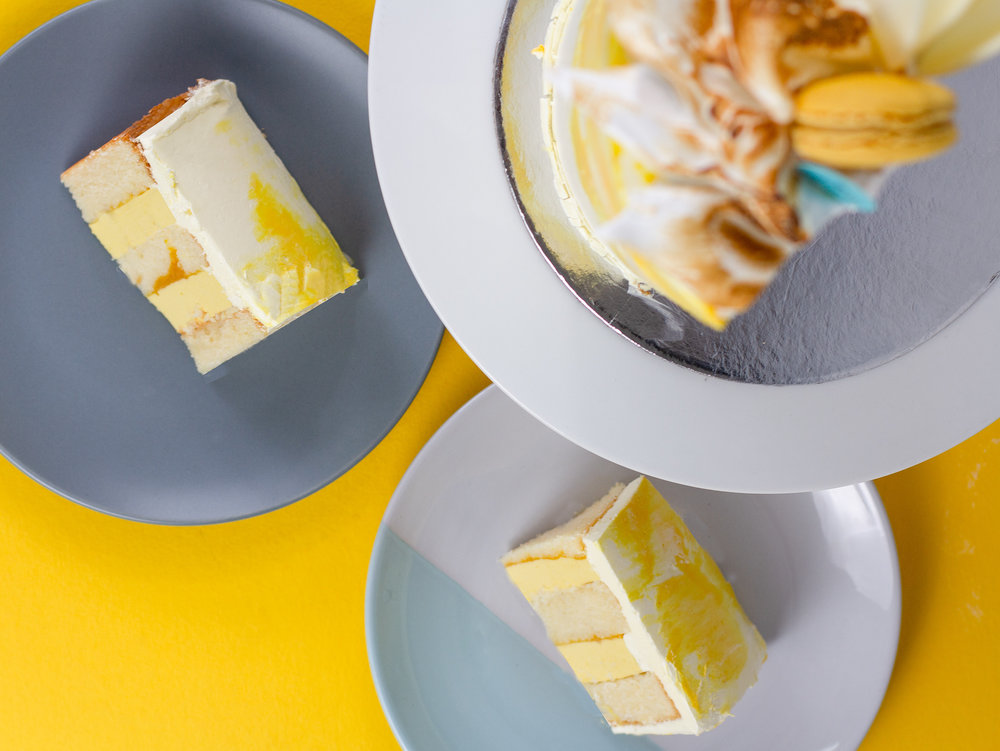 Pictured: Our Summertime Occasion Cake in Coffee Serves